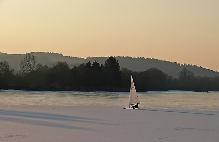 Eissegeln 2012