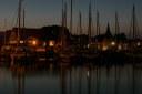 Heeger Hafen am Abend