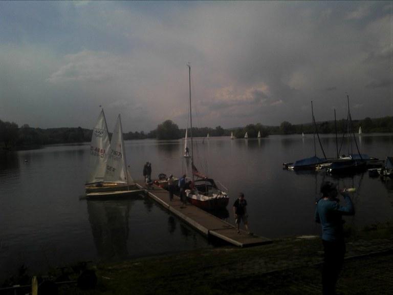 Die Boote sind bereit