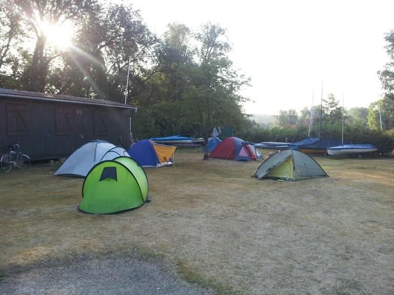 Übernachtung im September 2016