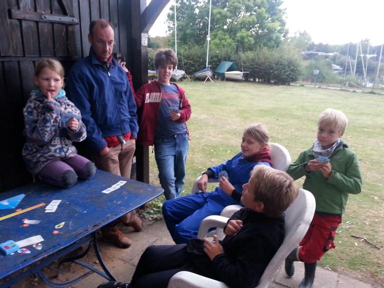 Oktober 2016 Vorbereitung zur Jüngstensegelscheinprüfung