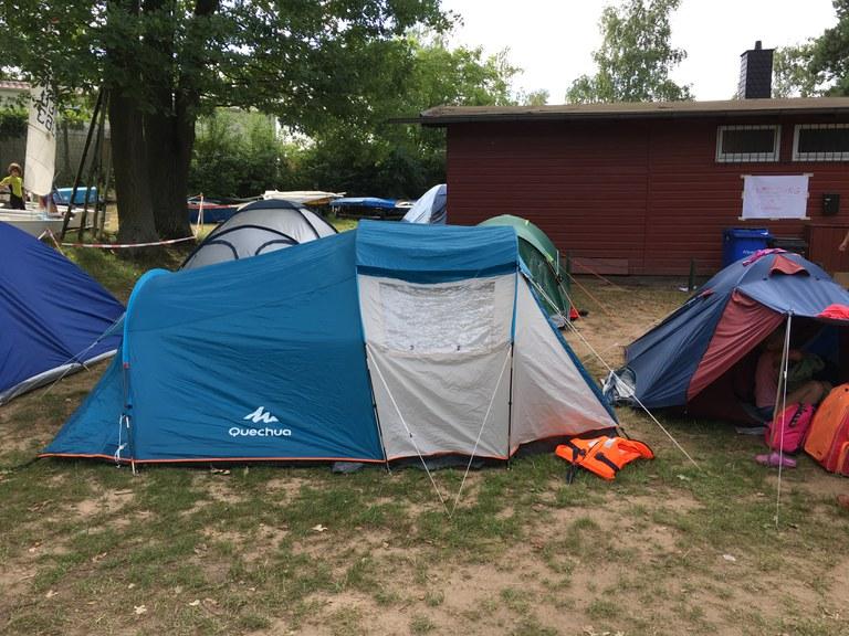 Unser Zeltlager in Kahl